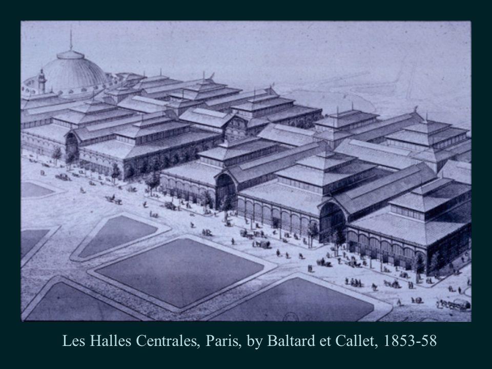 Les Halles Centrales, Paris, by Baltard et Callet, 1853-58