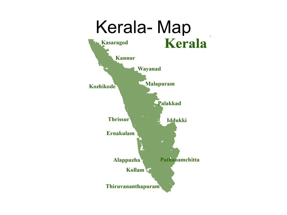 Kerala- Map