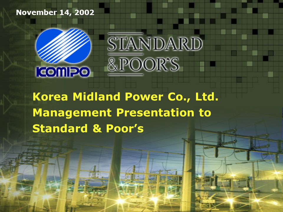 W02/5517 Korea Midland Power Co., Ltd.