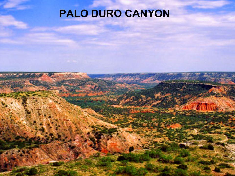 Palo Duro Canyon PALO DURO CANYON