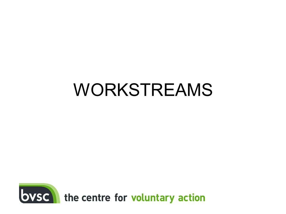 WORKSTREAMS