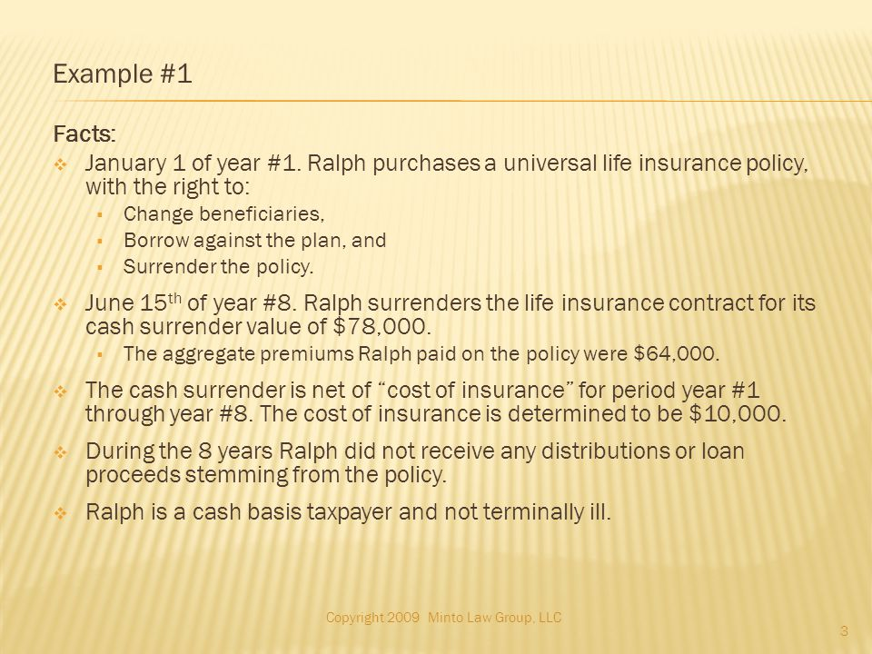 Example #4(Cont.) What is the Character of the Income.