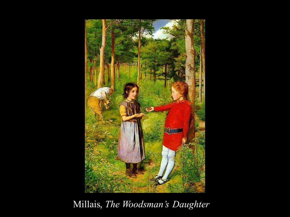 Millais, The Woodsman's Daughter