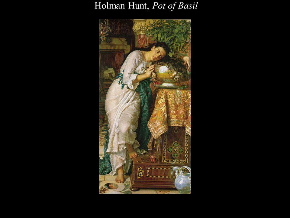 Holman Hunt, Pot of Basil