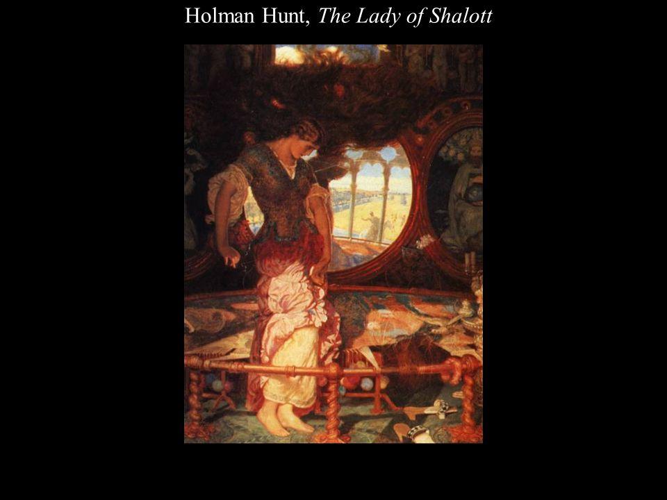 Holman Hunt, The Lady of Shalott