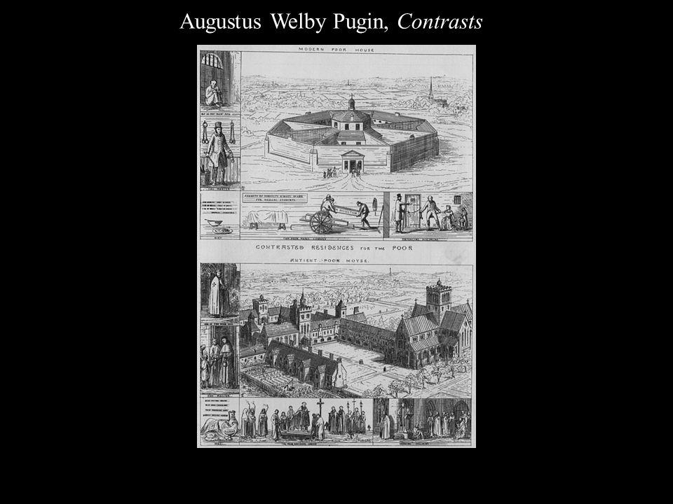 Augustus Welby Pugin, Contrasts