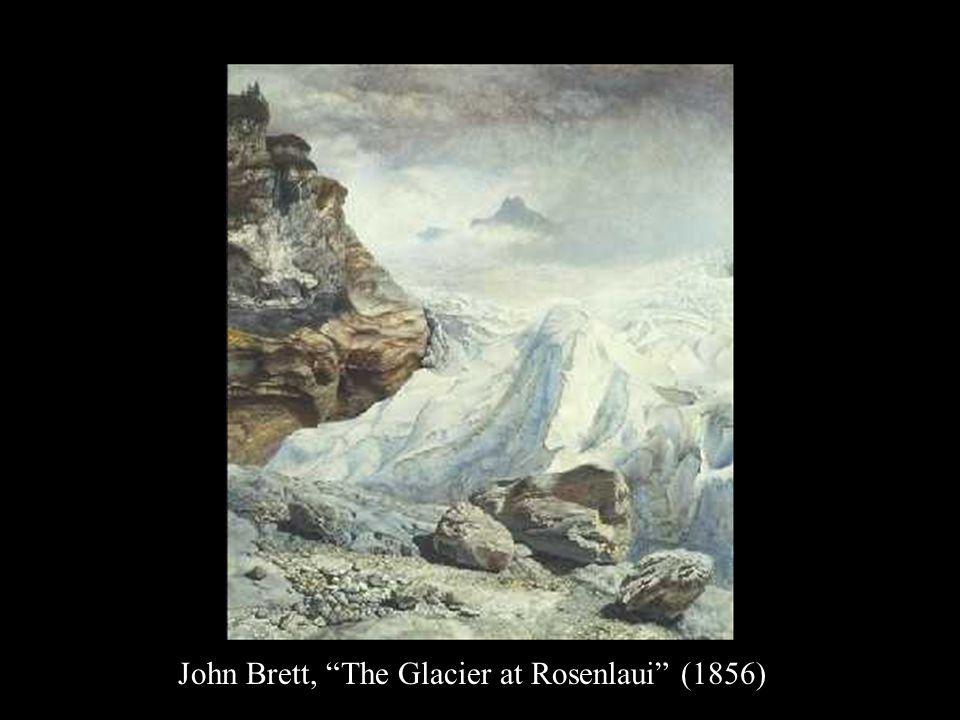 John Brett, The Glacier at Rosenlaui (1856)