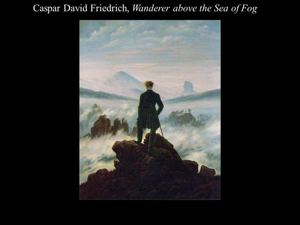 Caspar David Friedrich, Wanderer above the Sea of Fog