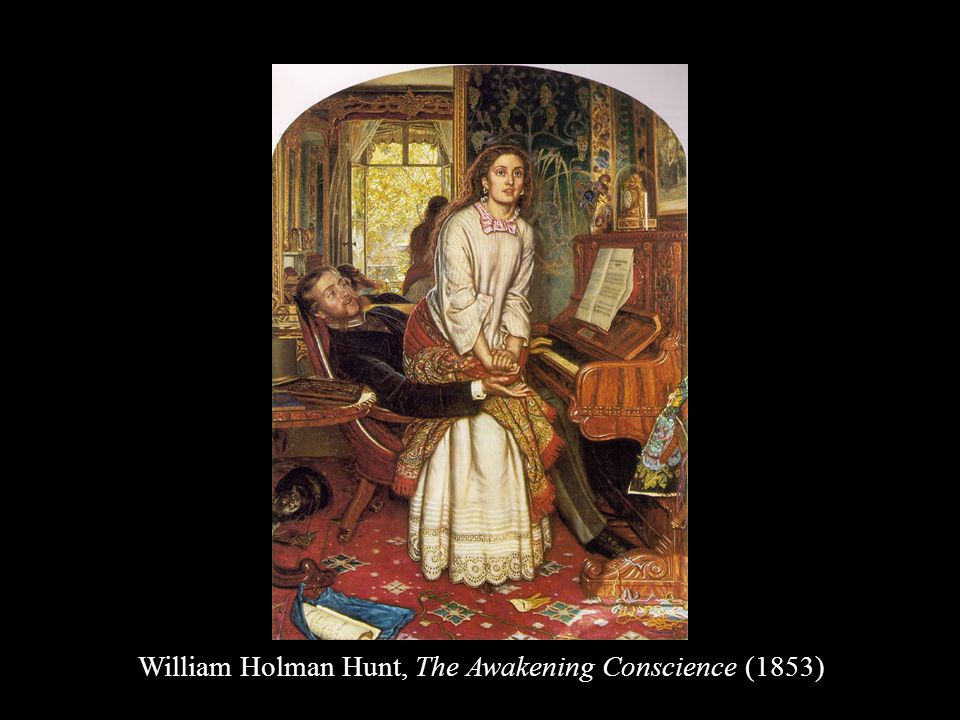 William Holman Hunt, The Awakening Conscience (1853)