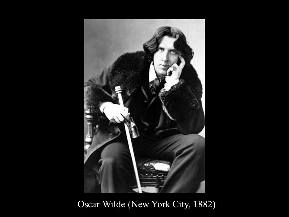 Oscar Wilde (New York City, 1882)
