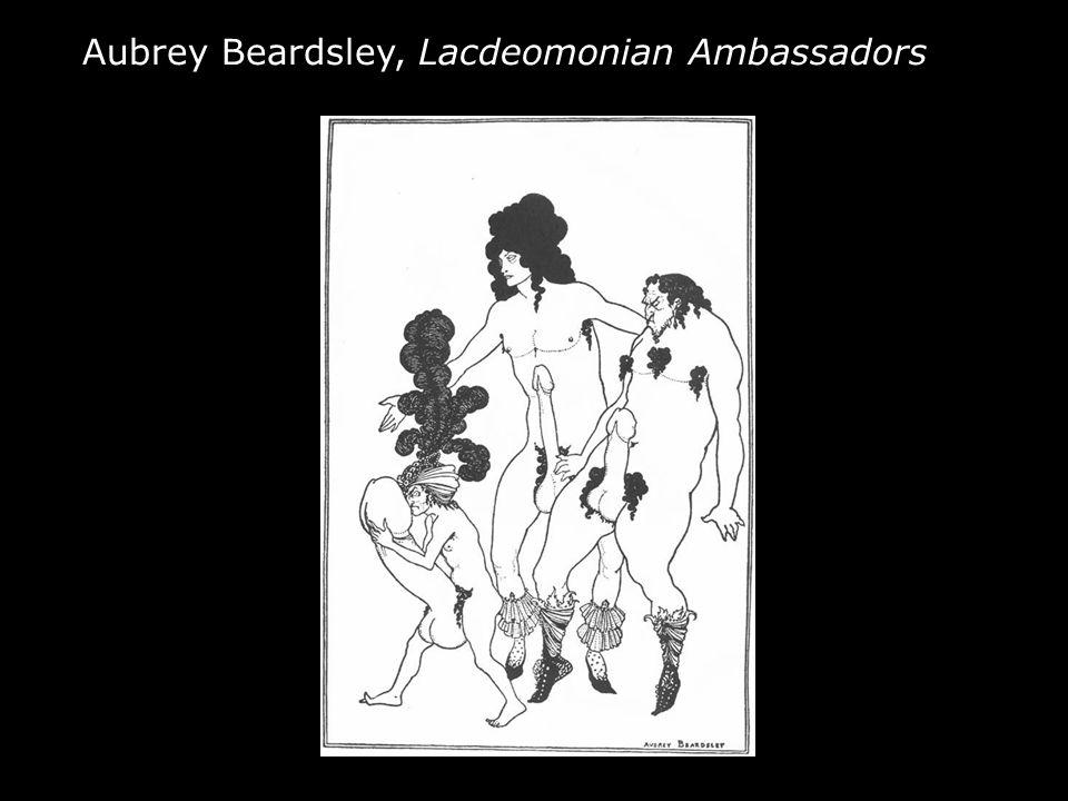 Aubrey Beardsley, Lacdeomonian Ambassadors