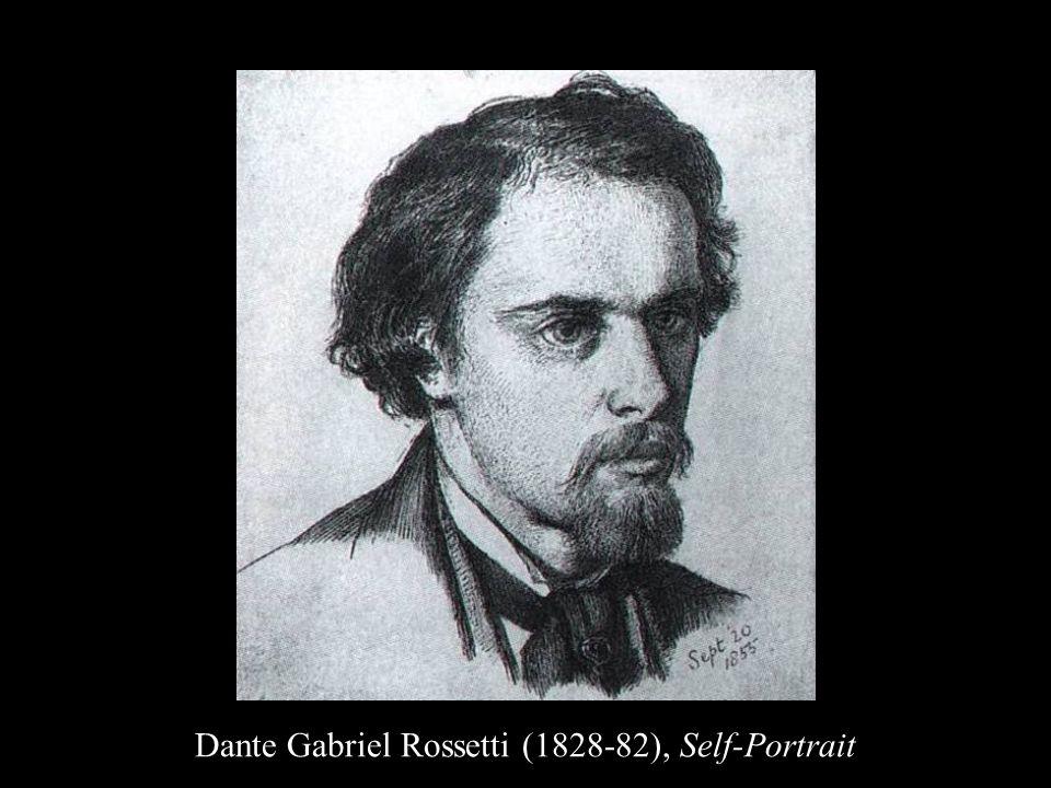 Dante Gabriel Rossetti (1828-82), Self-Portrait