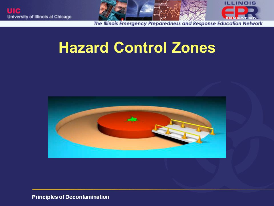 Principles of Decontamination Hazard Control Zones