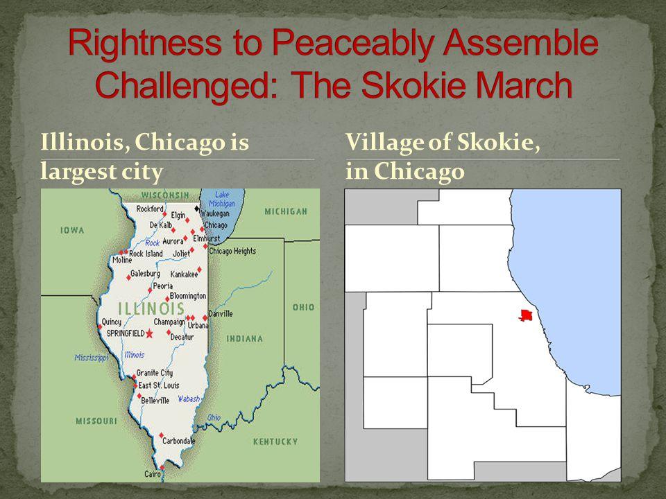 Illinois, Chicago is largest city Village of Skokie, in Chicago