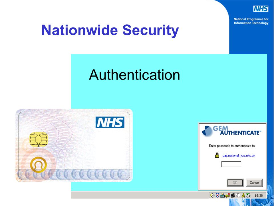 Authentication Nationwide Security