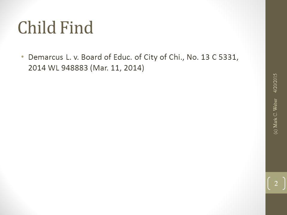 ADA/Section 504 CTL v.Ashland Sch. Dist., 743 F.3d 524 (7th Cir.