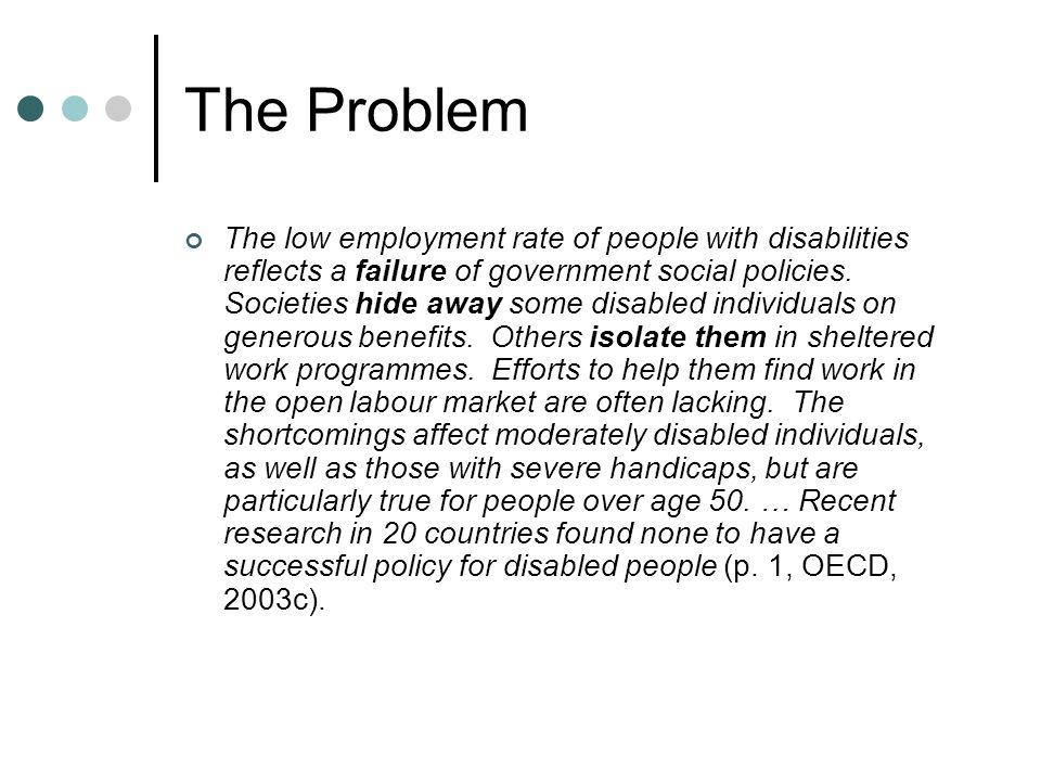 Some Key Statistics Education, Welfare/Unemployment, Employment c.