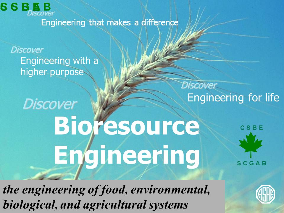 Discover Discover Engineering that makes a difference Discover Discover Engineering for life Discover Discover Engineering with a higher purpose C S B