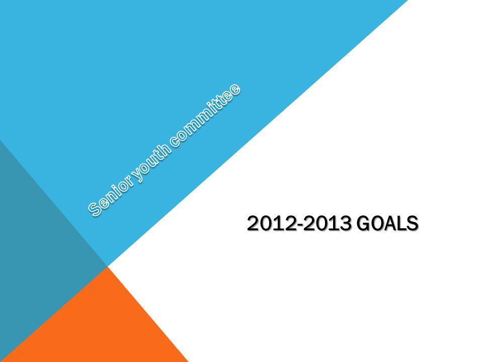 2012-2013 GOALS