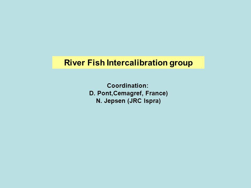 River Fish Intercalibration group Coordination: D. Pont,Cemagref, France) N. Jepsen (JRC Ispra)