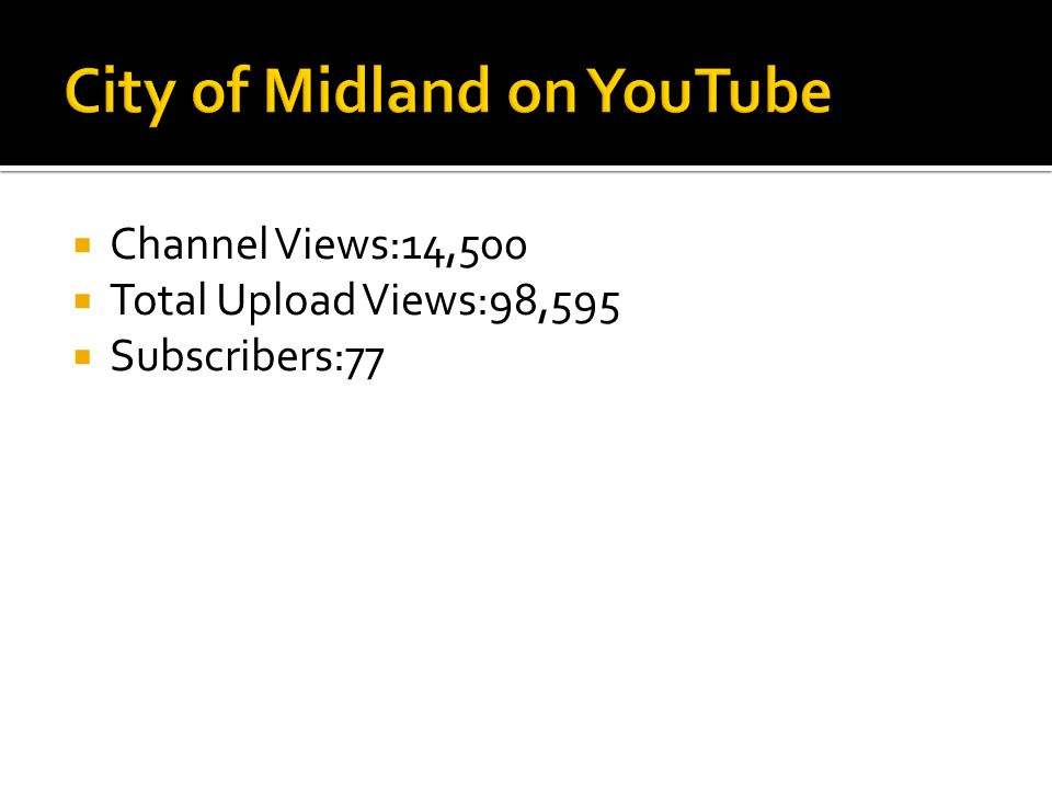  Channel Views:14,500  Total Upload Views:98,595  Subscribers:77