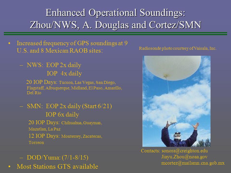 Enhanced Operational Soundings: Zhou/NWS, A.