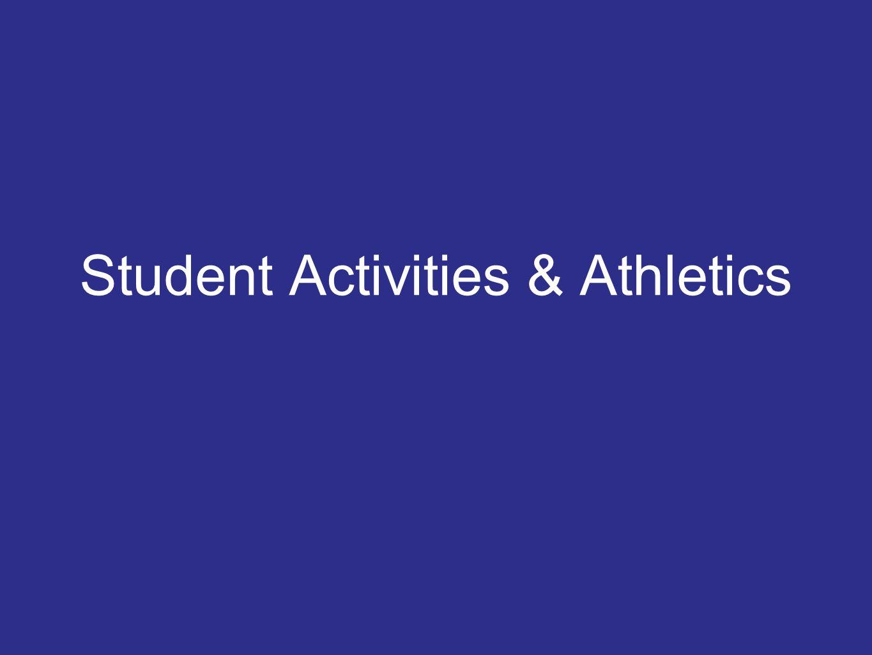 Student Activities & Athletics