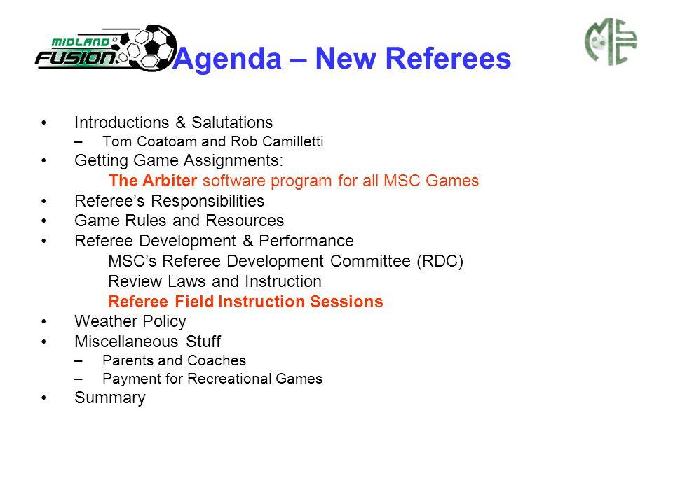 Recreational Game Fees FOR 2013 SEASON Recreational Games AgeGame durationCR / AR1/ AR2 U7-U82 x 20 min halves$13 U9-U10 2 x 25 min halves$18/ $10/ $10 U122 x 30 min halves$22/ $14/ $14 U142 x 35 min halves$27.50/ $17.50/ $17.50 U15-192 x 40 min halves$37.50/ $22.50 / $22.50