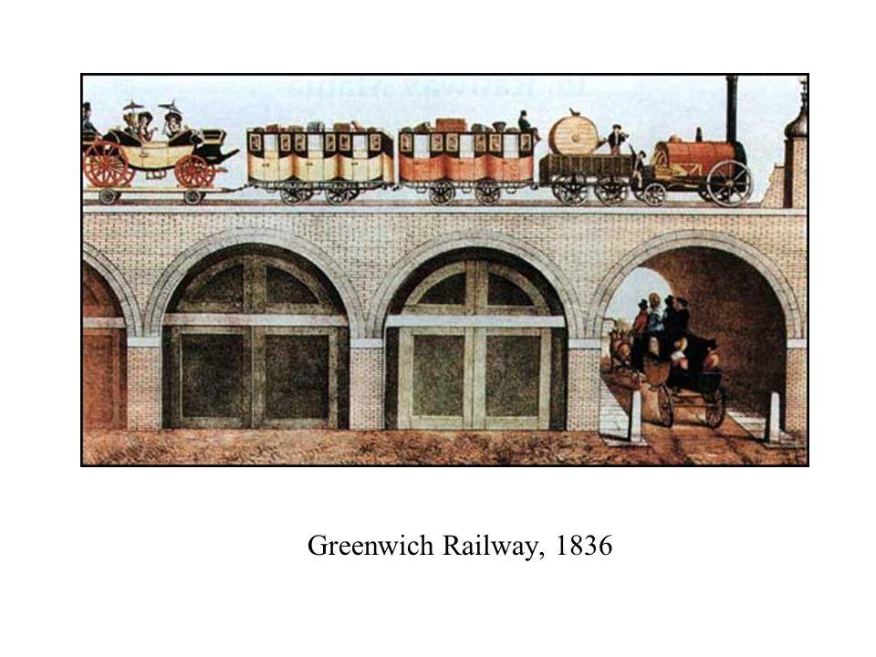 Greenwich Railway, 1836