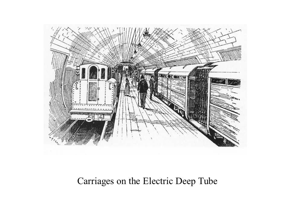 Carriages on the Electric Deep Tube