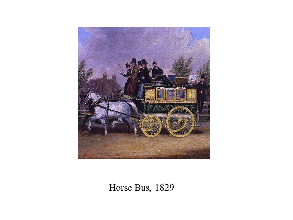 Horse Bus, 1829