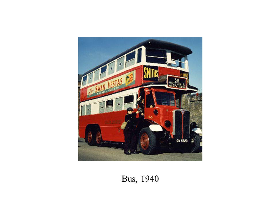 Bus, 1940