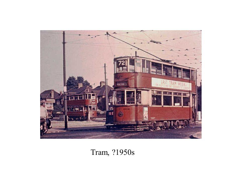 Tram, ?1950s