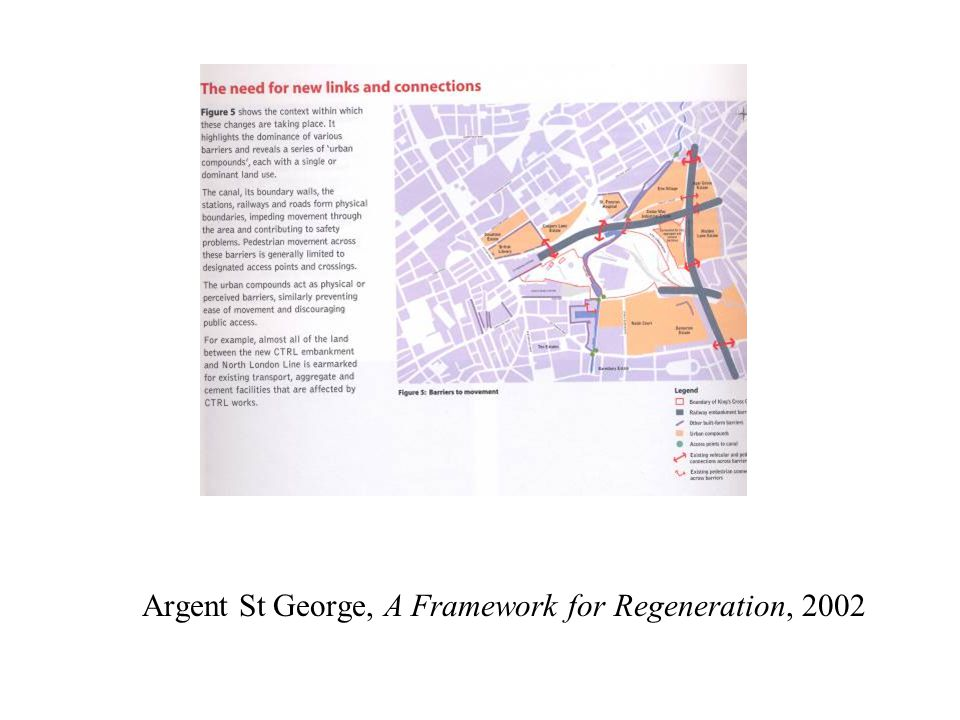 Argent St George, A Framework for Regeneration, 2002