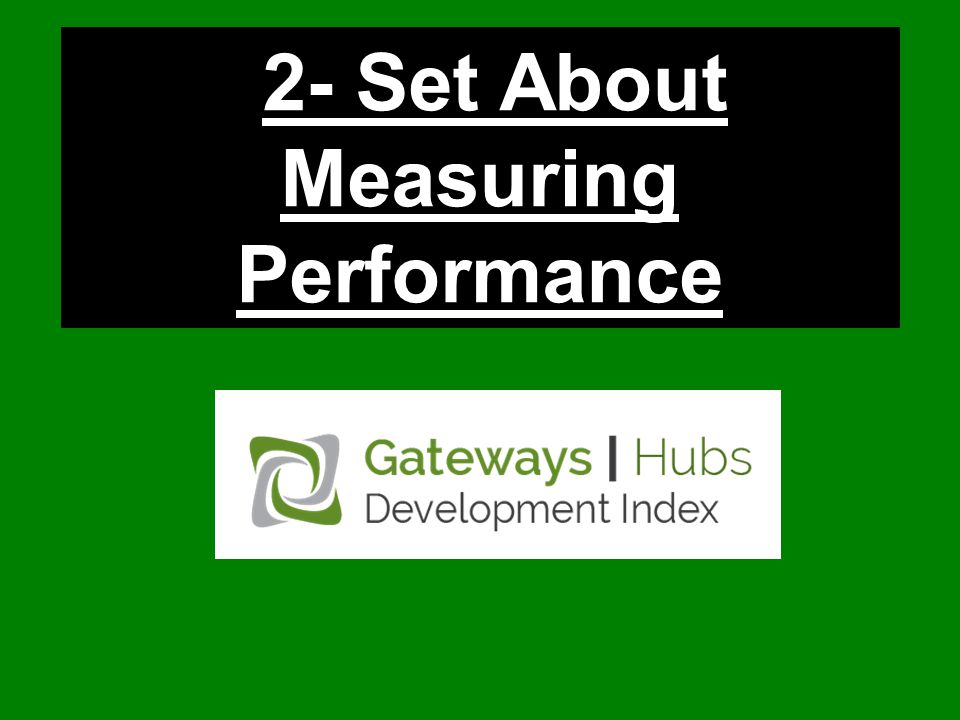 2- Set About Measuring Performance