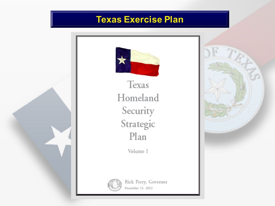 Texas Exercise Plan