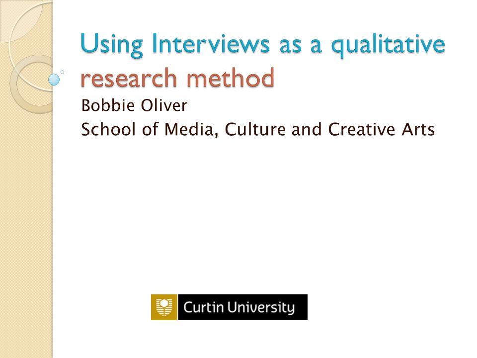 Bobbie Oliver School of Media, Culture and Creative Arts