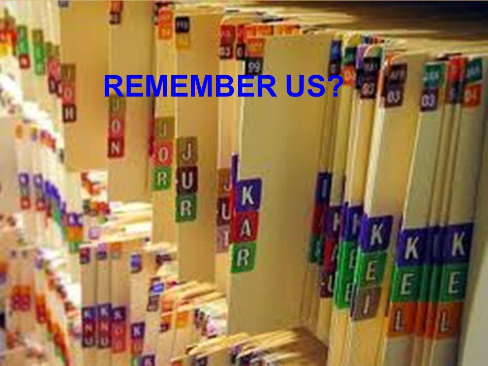 7 REMEMBER US?