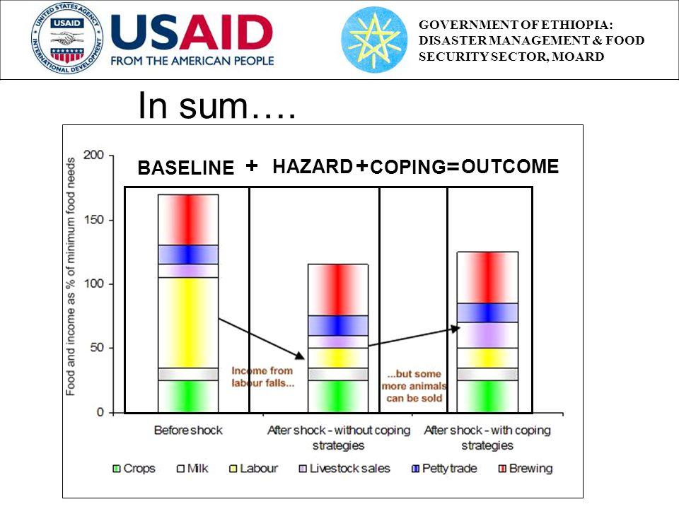 BASELINE HAZARD + COPING OUTCOME + = In sum….