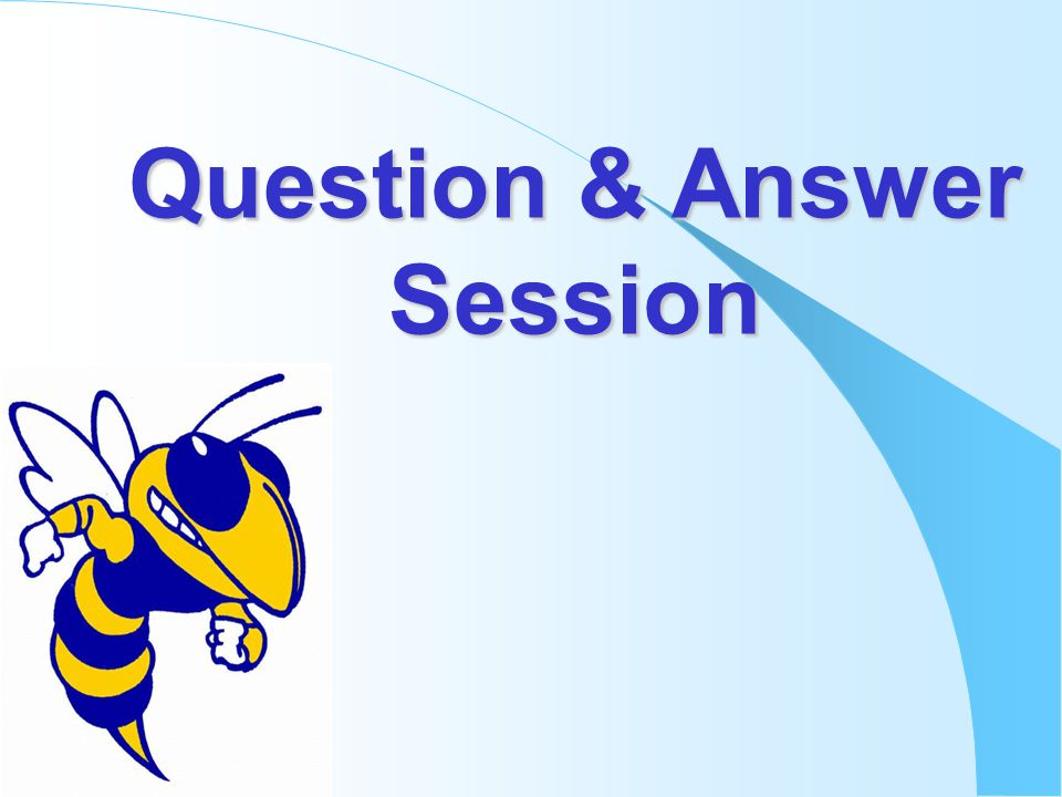 Question & Answer Session