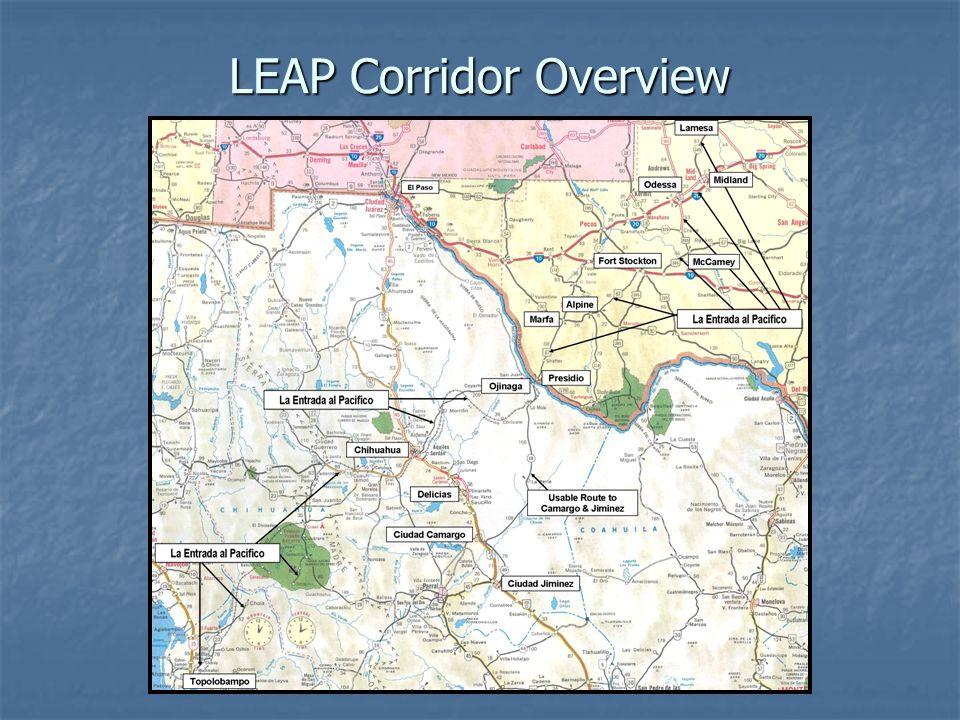 LEAP Corridor Overview