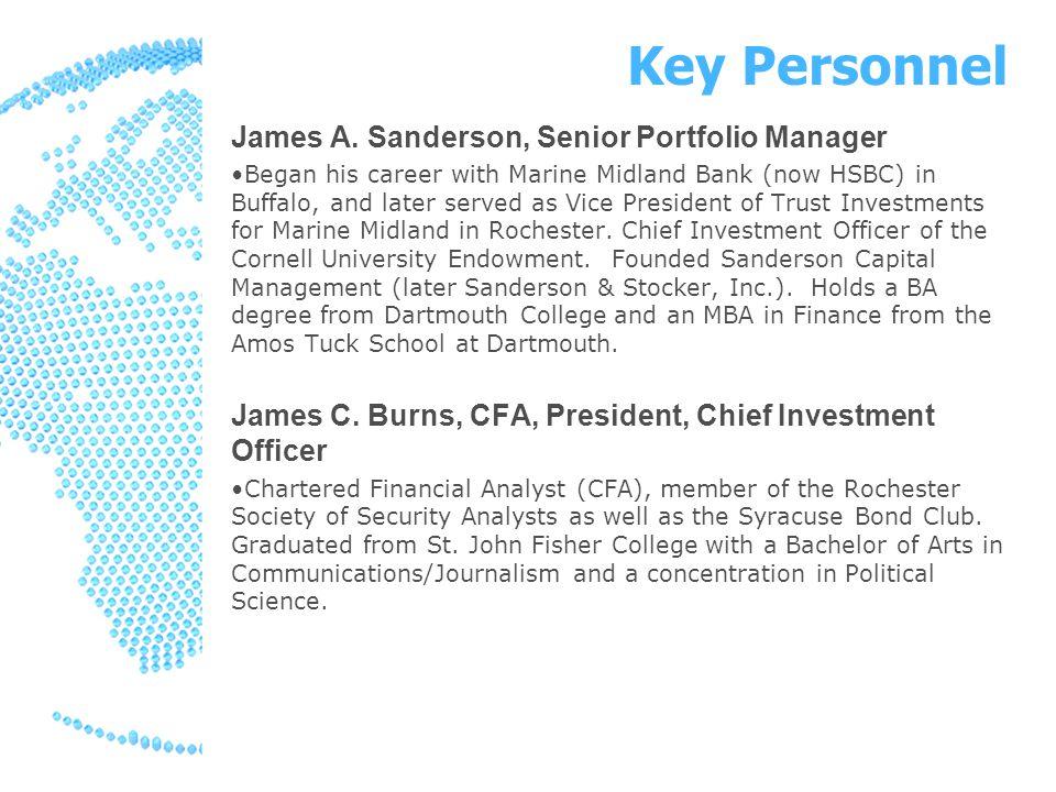 Key Personnel James A.