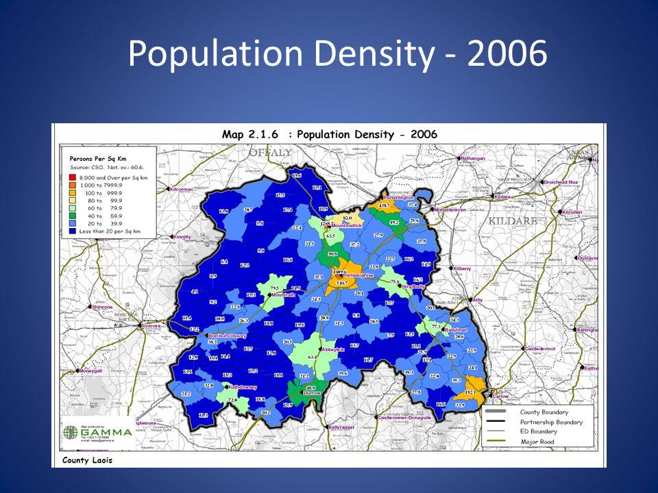 Population Density - 2006
