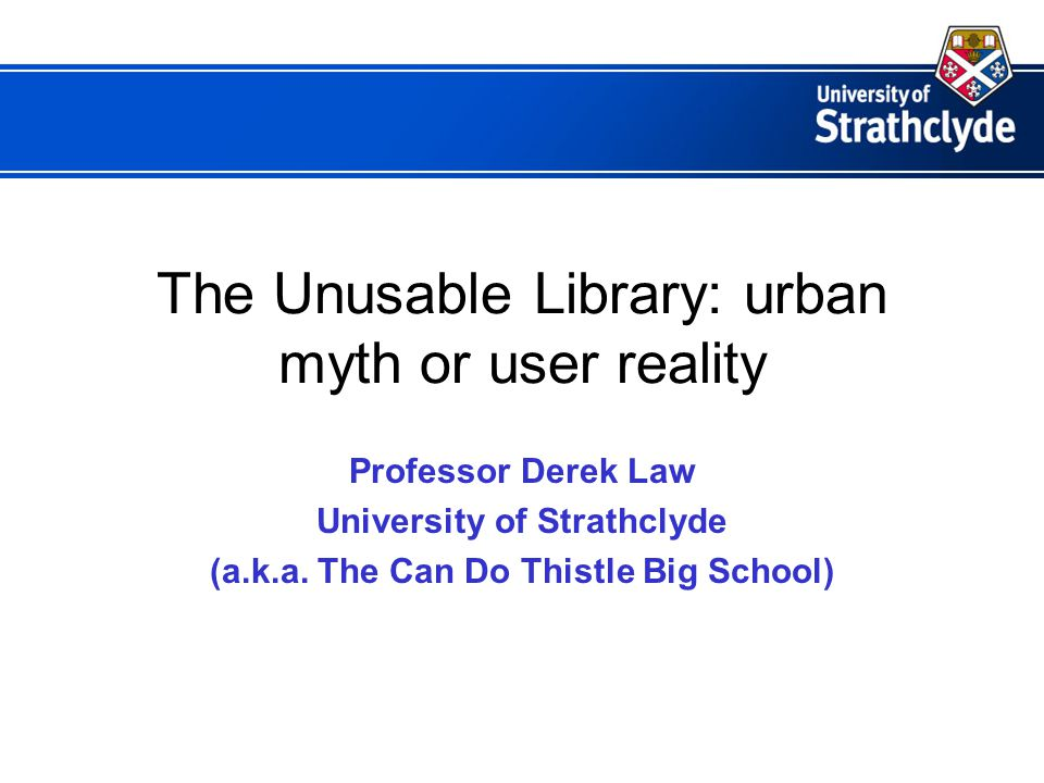28 th October 2005Stellenbosch University Library Service Symposium, 2005 The Virtual Research Environment o offers personalised services o synthesises access to information and services o provides a supported working environment o used for finding information o used for disseminating information o facilitates collaboration in new ways and across old boundaries o international and inter-institutional o pooled research