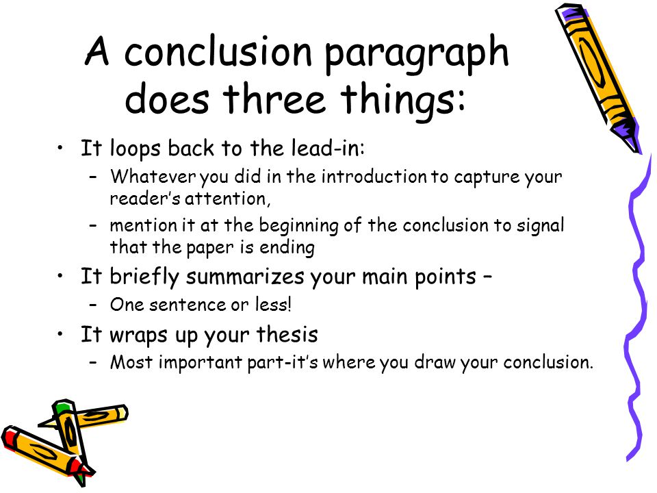 Conclusion In Dissertation