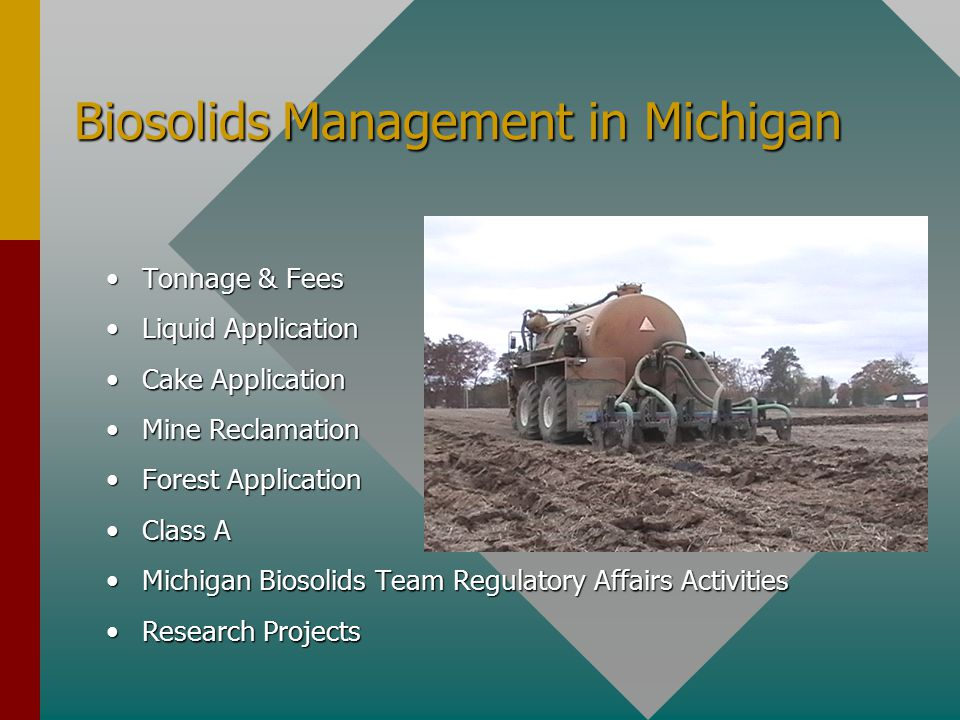 Grand Valley Regional Biosolids Authority GR produces 16000 dt/yr Wyoming produces 8000 dt/yr