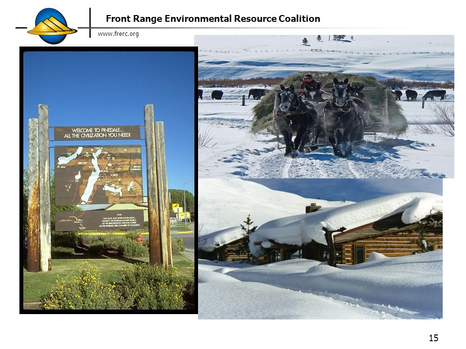 www.frerc.org Front Range Environmental Resource Coalition 15