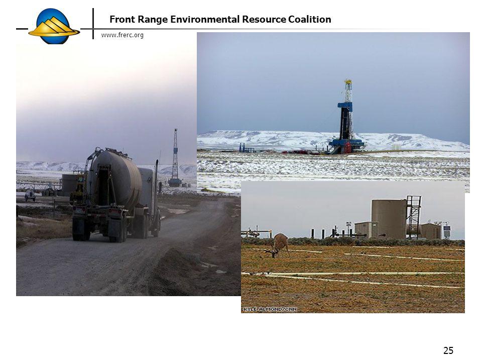www.frerc.org Front Range Environmental Resource Coalition 25