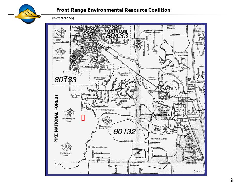 www.frerc.org Front Range Environmental Resource Coalition 9 