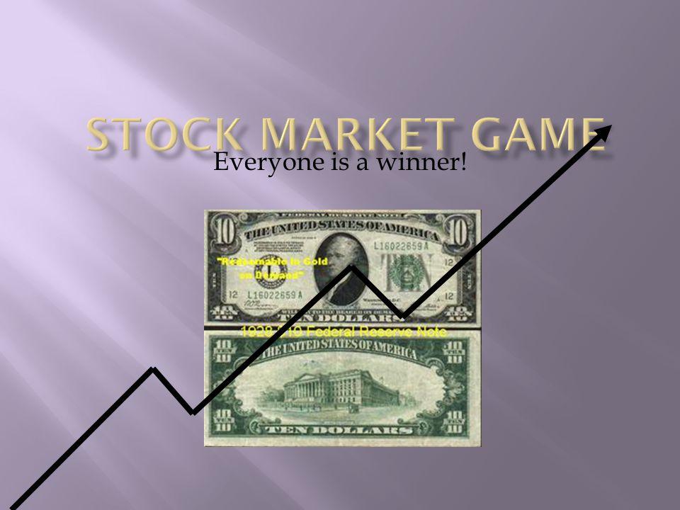 Everyone is a winner!